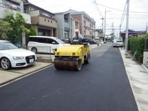 道路堀削跡復旧工事