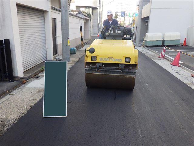 道路堀削跡復旧工事01